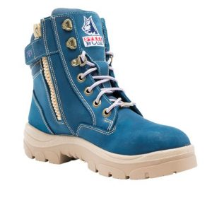 512761 Blue charity boot