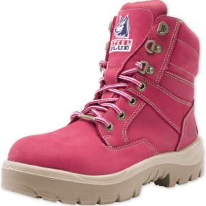 Steel Blue Southern Cross Ladies 522760 Pink Charity Boots