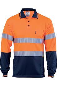 DNC Polo Shirt Long Sleeve DNC 3913