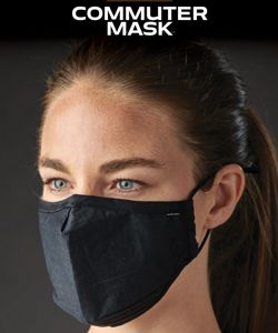 StormTech Commuter 3 layer face mask reuse machine wash