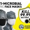 CV33 anti microbial face mask